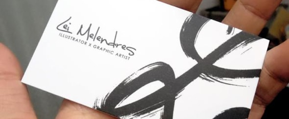Go To Doodle Business Card