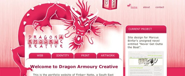 View Information about Dragon Creative