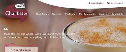 View Information about Drink Me Chai