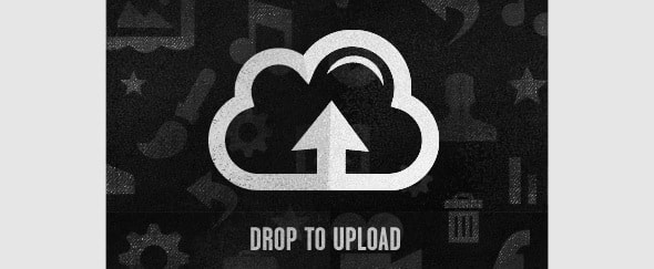 View Information about Drop to Upload
