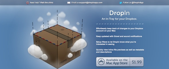 View Information about DropIn