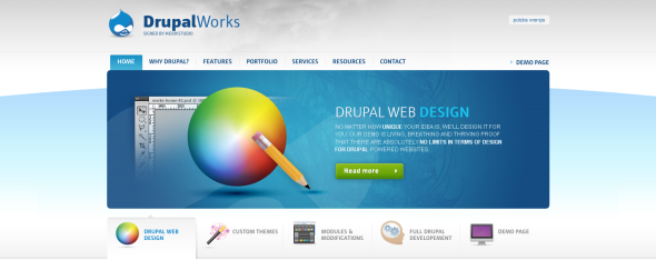 View Information about Drupal Works
