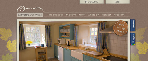 View Information about Eastside Holiday Cottages