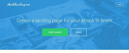 View Information about Ebook Landing Page