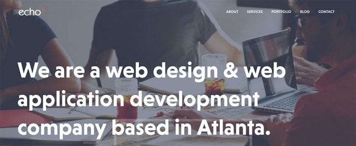 View Information about Echo 5 Atlanta Web Design