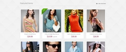 View Information about eCommerce Pandora Theme