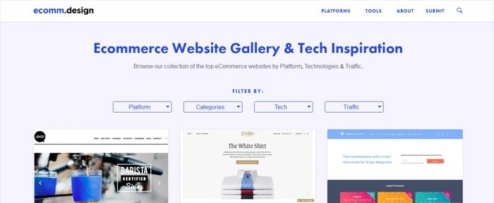 View Information about Ecommerce Websites Design