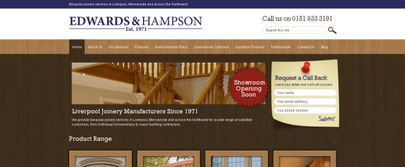 View Information about Edwards & Hampson Ltd