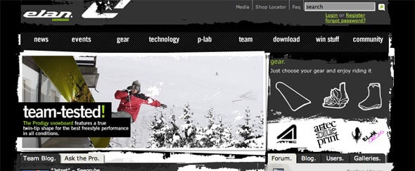 View Information about Elan Snowboards