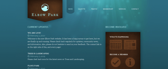 View Information about Elbow Park