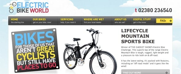 View Information about Electric Bike World