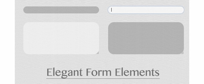 View Information about Elegant Form Elements