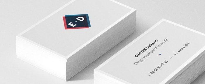 View Information about Emilien Durand Business Cards