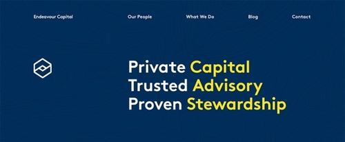 View Information about Endeavour Capital