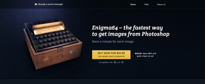 View Information about Enigma64