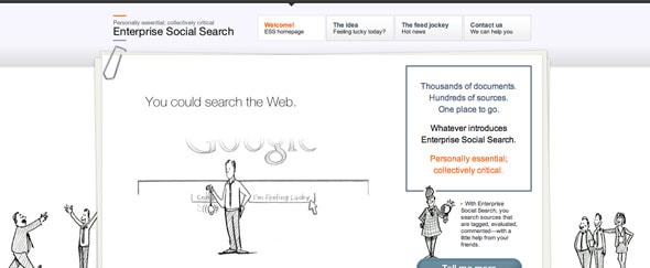 View Information about Enterprise Search