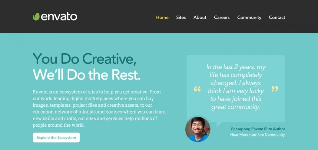 Go To Envato Homepage