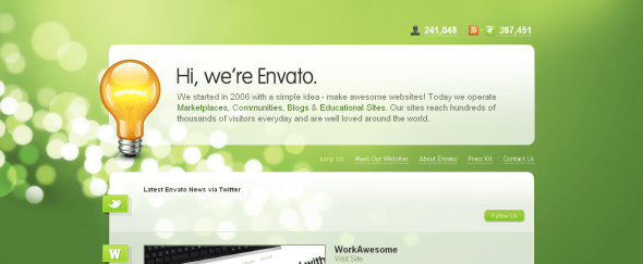 View Information about Envato