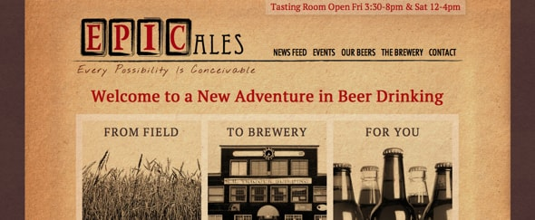 View Information about Epic Ales
