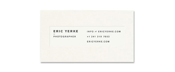 View Information about Eric Yerke