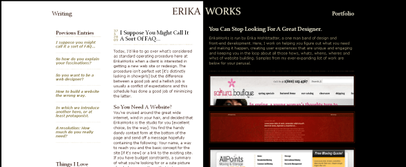 View Information about Erika Works
