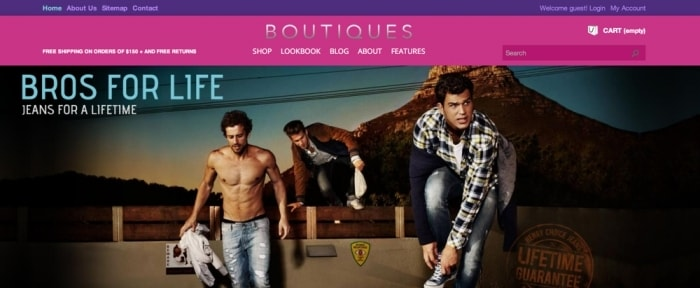 View Information about ET Boutique