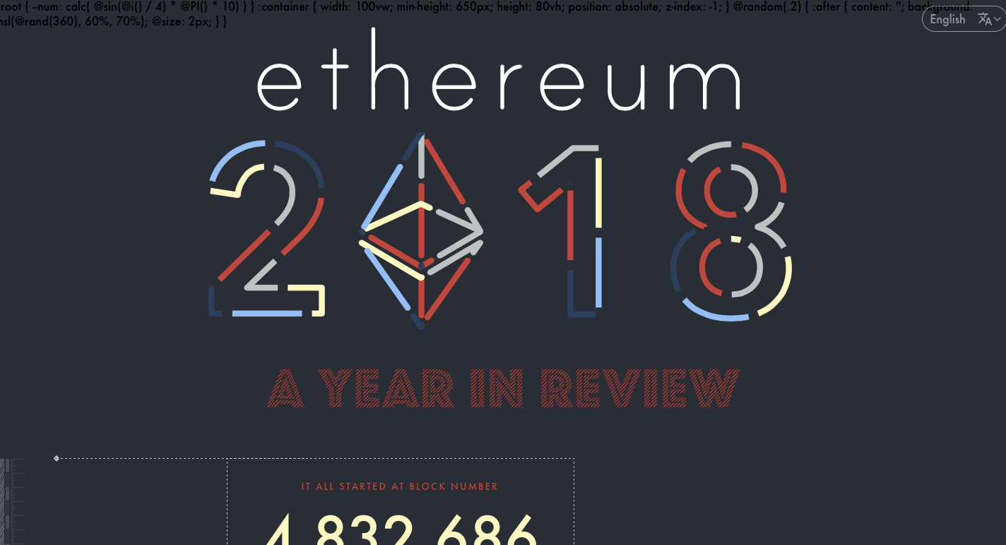 Go To Ethereum 2018 In Review