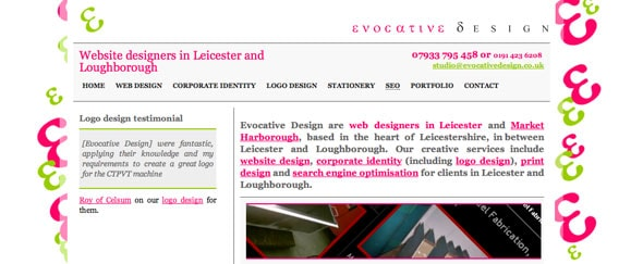 View Information about Evocative Design