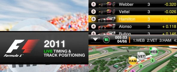View Information about F1 2011