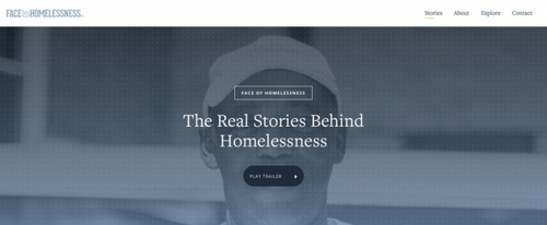 View Information about Face of Homelessness