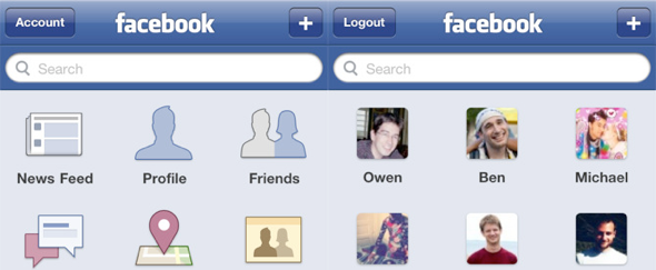 View Information about Facebook for iPhone