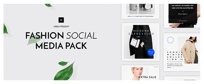 Go To Fashion Social Media Pack