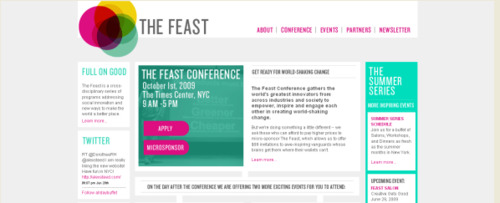 View Information about The Feast