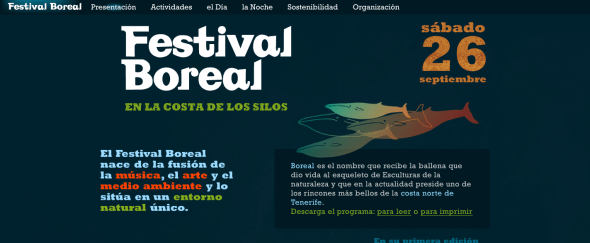 View Information about Festival Boreal