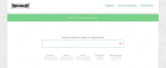 View Information about Fighterology