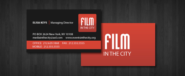 View Information about Film In The City