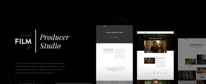 View Information about FilmMaker WordPress Theme