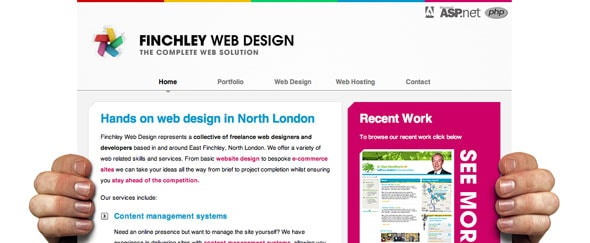 Go To Finchley Web Design