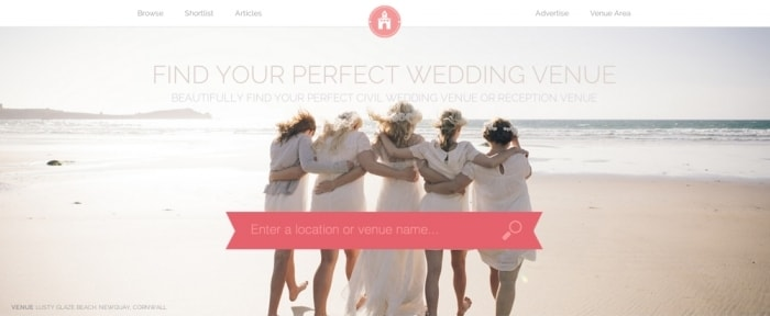 Go To Find Your Perfect Wedding Venue