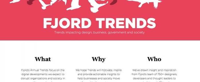 View Information about Fjord Trends