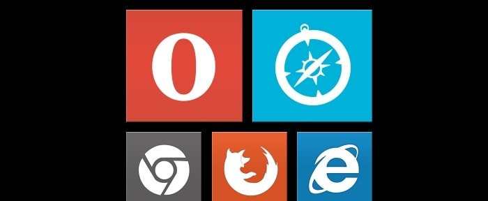 View Information about Flat Browser Icons