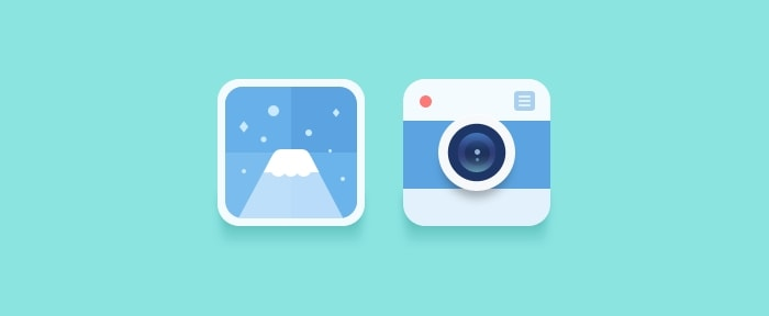 View Information about Flat Camera Icon