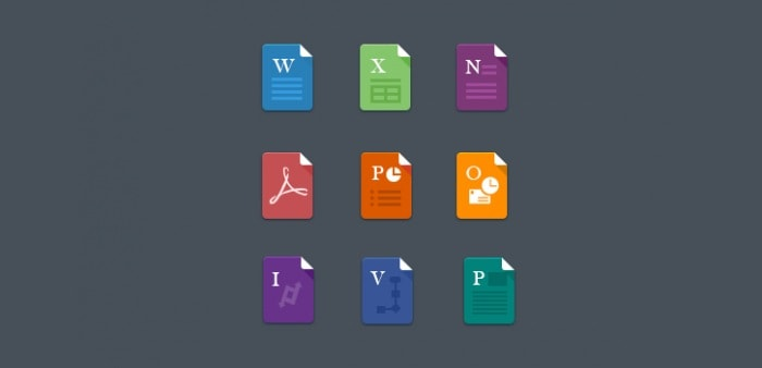 Go To Flat File Icons