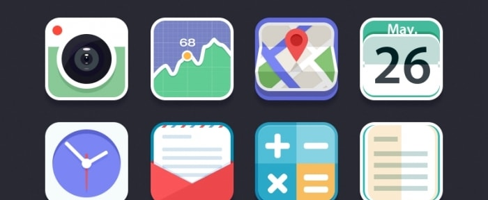 View Information about Flat Icon Set