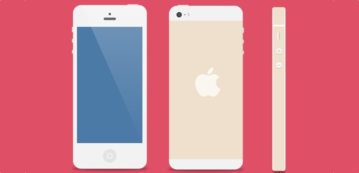 Go To Flat iPhone 5 Vector