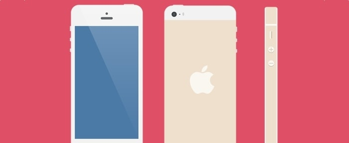 View Information about Flat iPhone 5 Vector