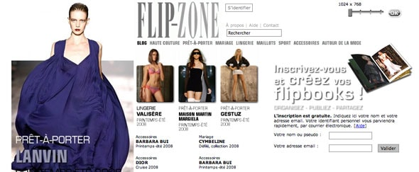 View Information about Flip-Zone