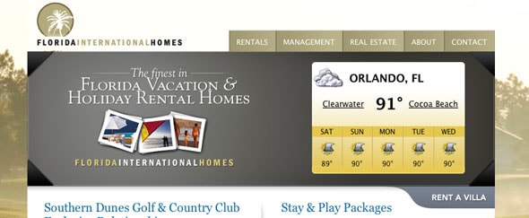 View Information about Florida Homes