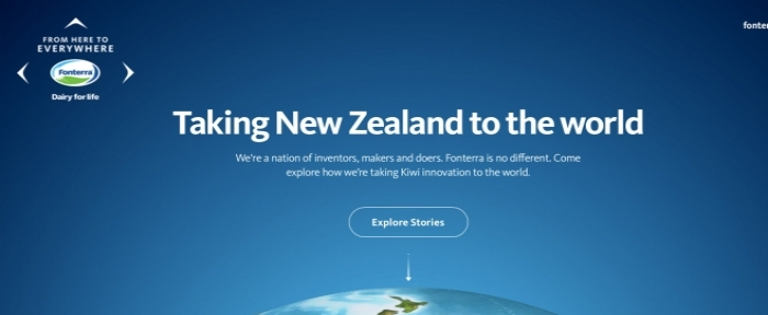 View Information about Fonterra