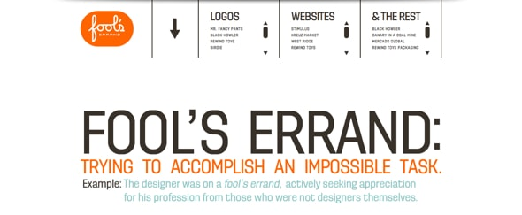 View Information about Fool\'s Errand Design